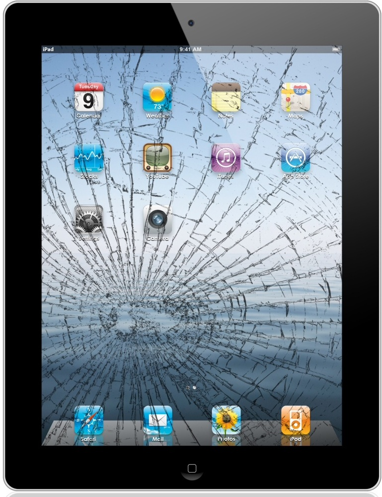 sell cracked ipad